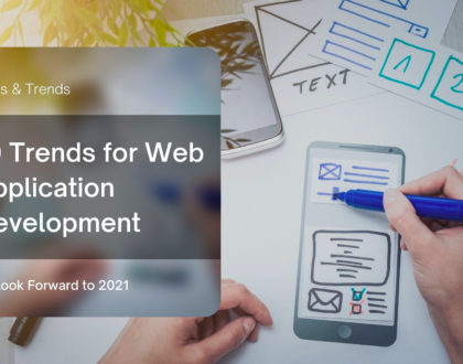 TOP 10 WEB APPLICATION DEVELOPMENT TRENDS