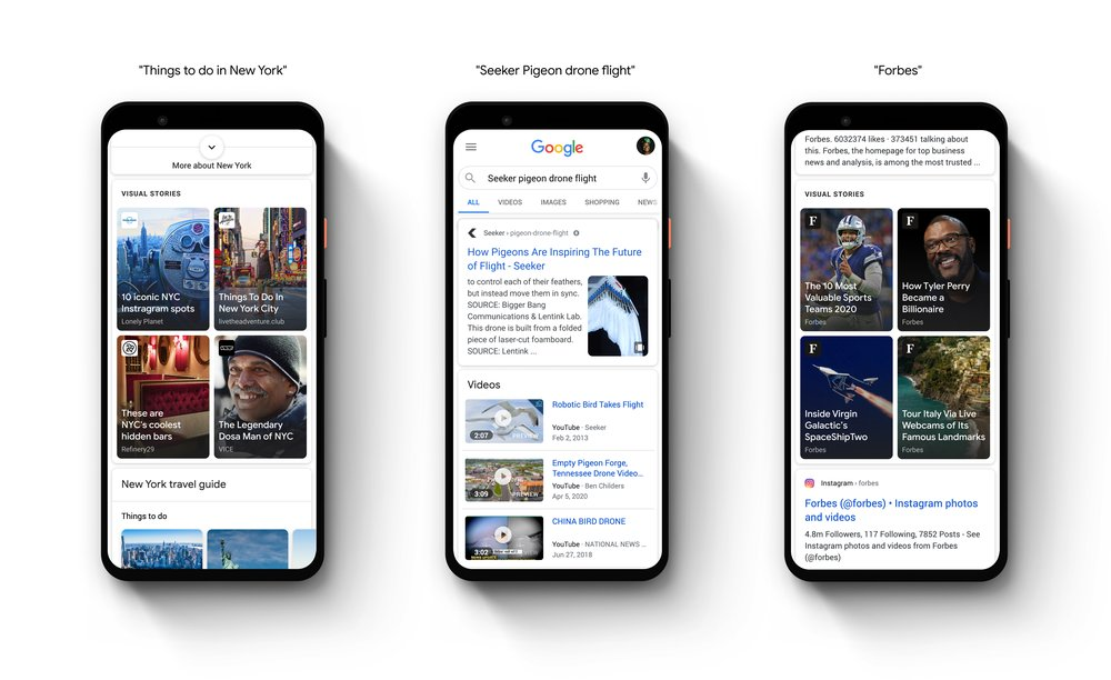 The Only Google Web Stories Guide You'd Need In 2021